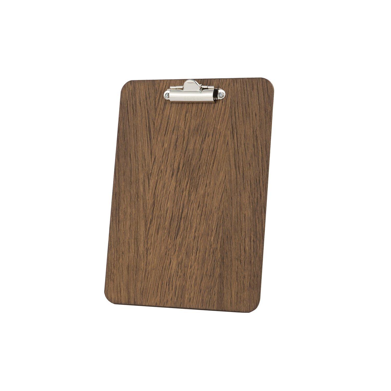 240/x 175/mm finition en bois de ch/êne fonc/é A5 Porte-bloc