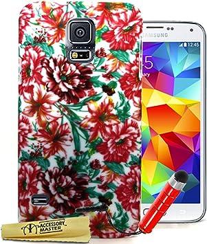 Estuche rígido de Accesorios Maestro con la Aguja de la Pluma roja para Samsung Galaxy S5 G900f / G900h: Amazon.es: Electrónica