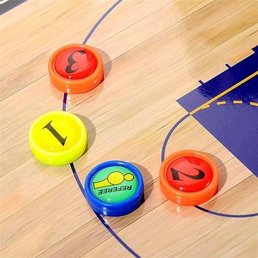 Spielfeld Coachboard Taktik-Klemmbrett für Basketball Taktik Tafel Team