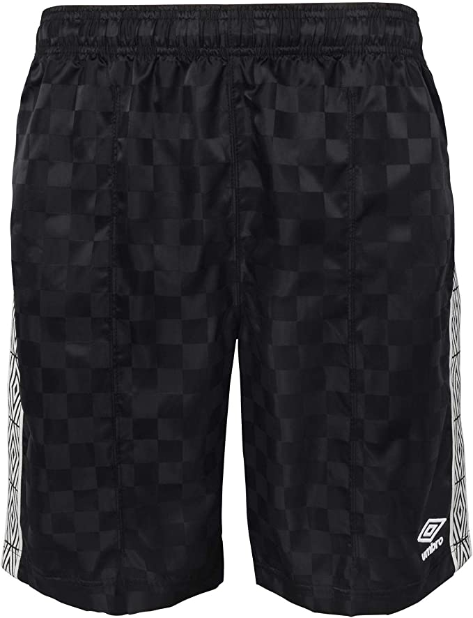 black umbro shorts