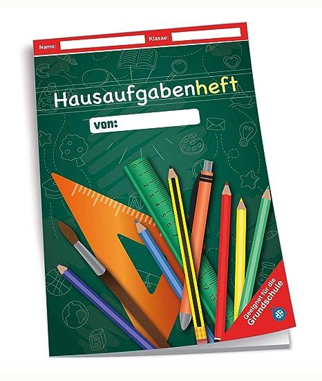 Motiv: ABC Hausaufgabenheft A5-96 Seiten Grundschule