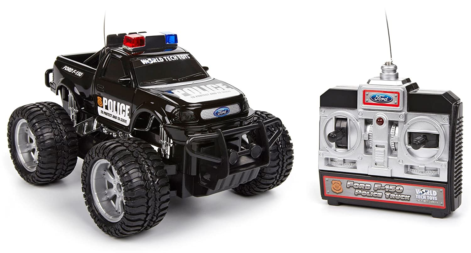 Amazon Com World Tech Toys Ford F Electric Rtr Rc Police