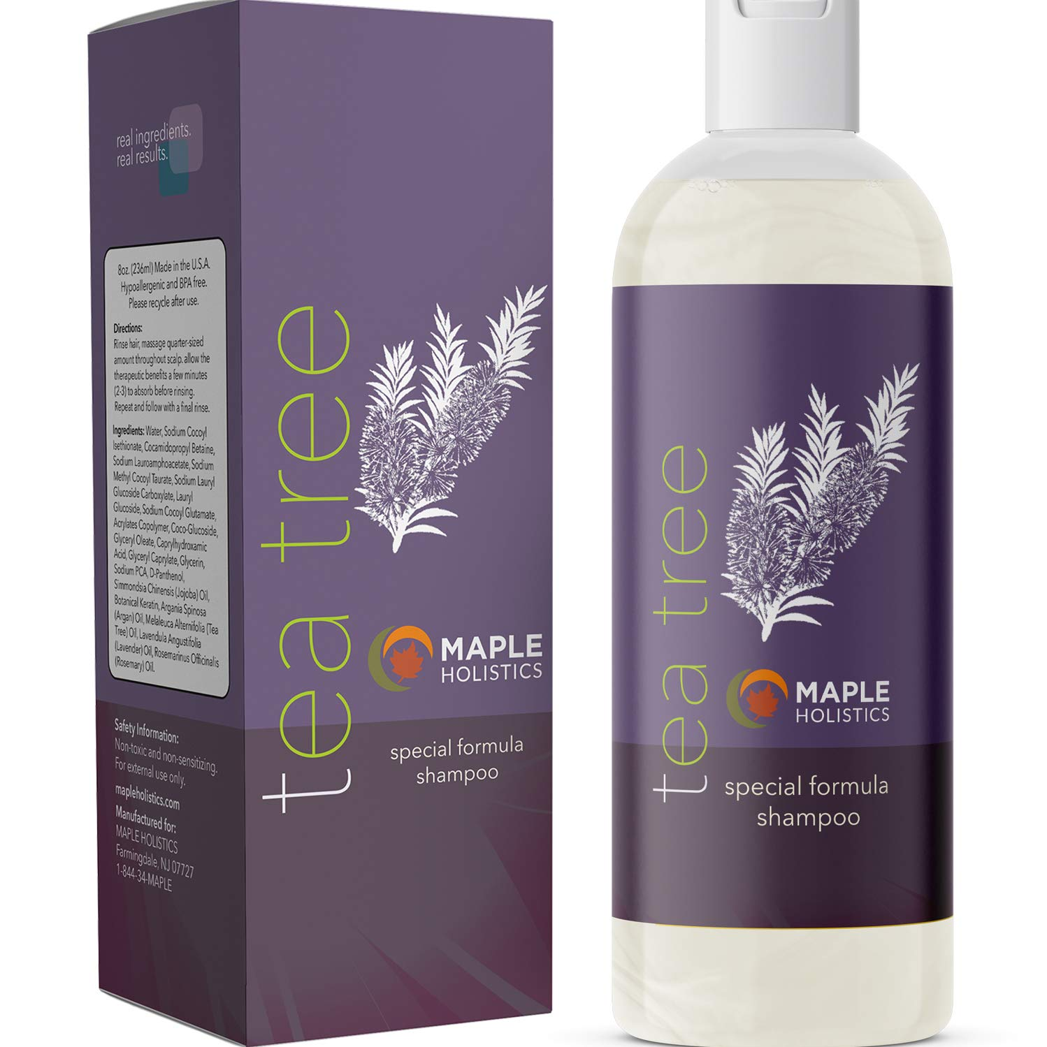 Maple Holistics Pure Tea Tree Oil Shampoo