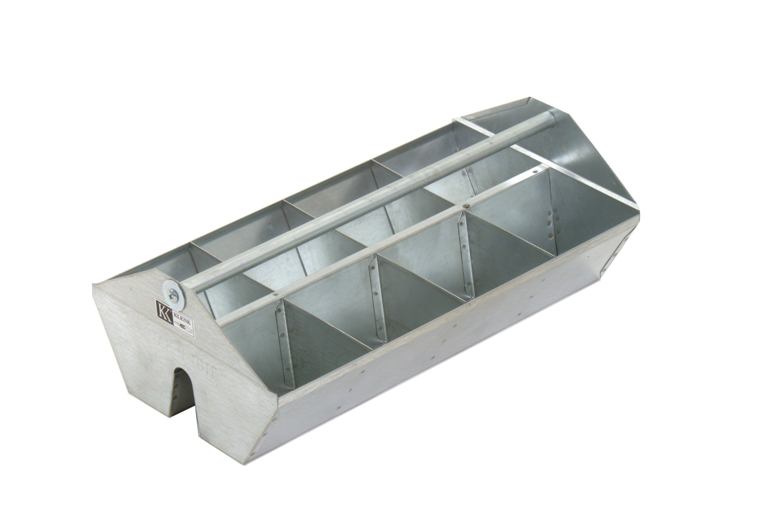 MB78010 Klenk Stak-N-Tote Fittings Tote Tray, 8 Compartment