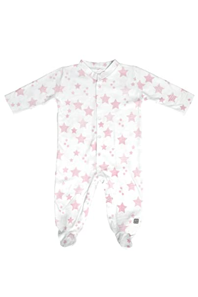 Pijama Largo 100% Algodón para Bebé 0/1 Mes - Colección Etoile (Color
