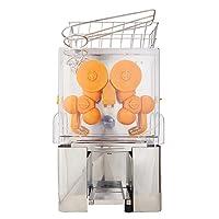 SucceBuy Orange Juicer 22-30 Oranges Juice Extractor Machine Automatic Commercial Orange Squeezer Machine Electric Citrus Lemon Lime Fruit