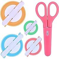Instrumento para hacer pompones, 4 tamaños de aguja