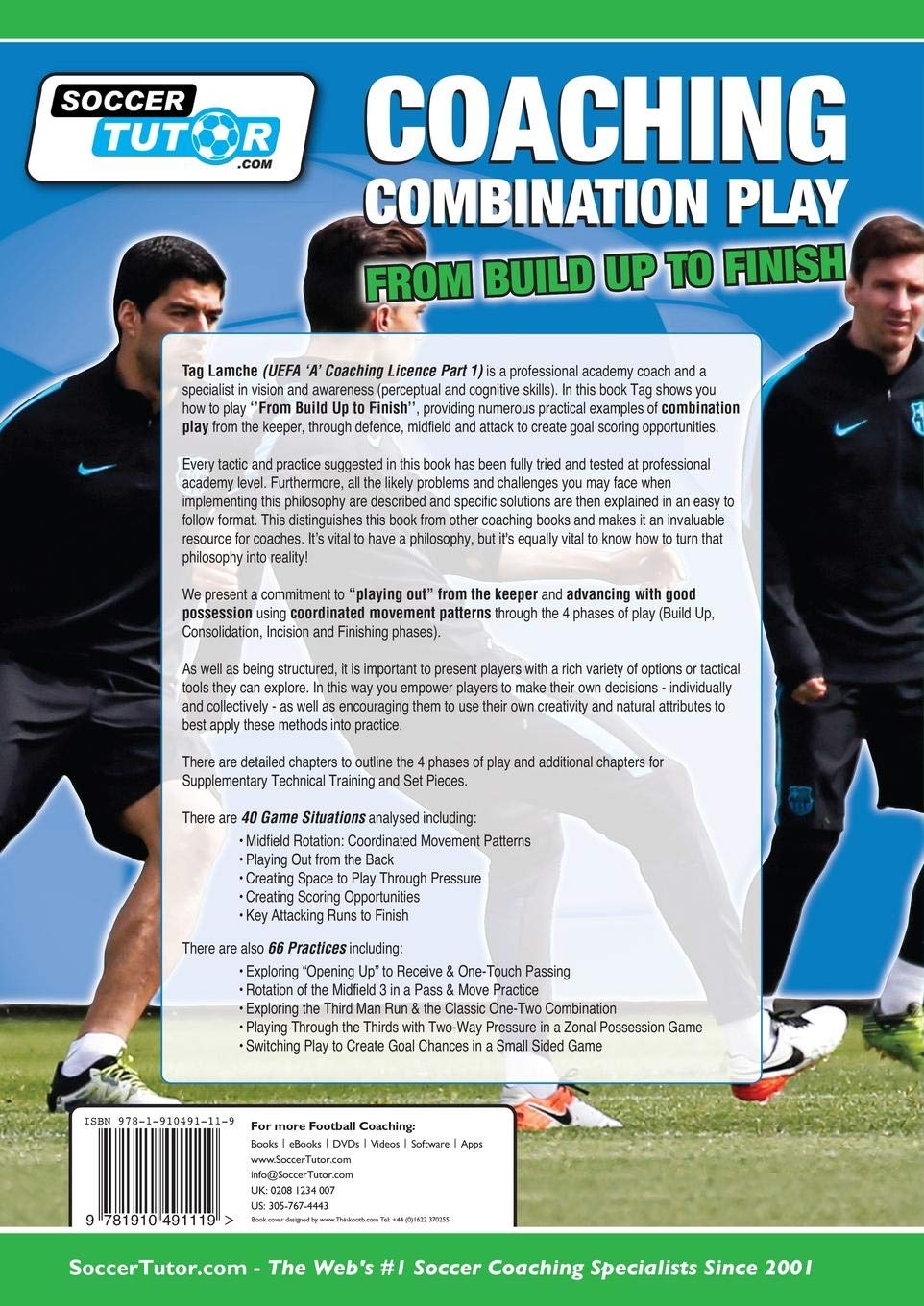 Coaching Combination Play - From Build Up to Finish: Tag Lamche