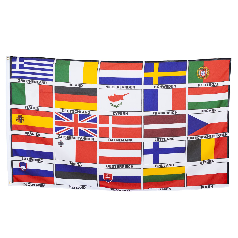 Europe 25/Country Large Hoisting Flag 150/x 90/cm by BRUBAKER