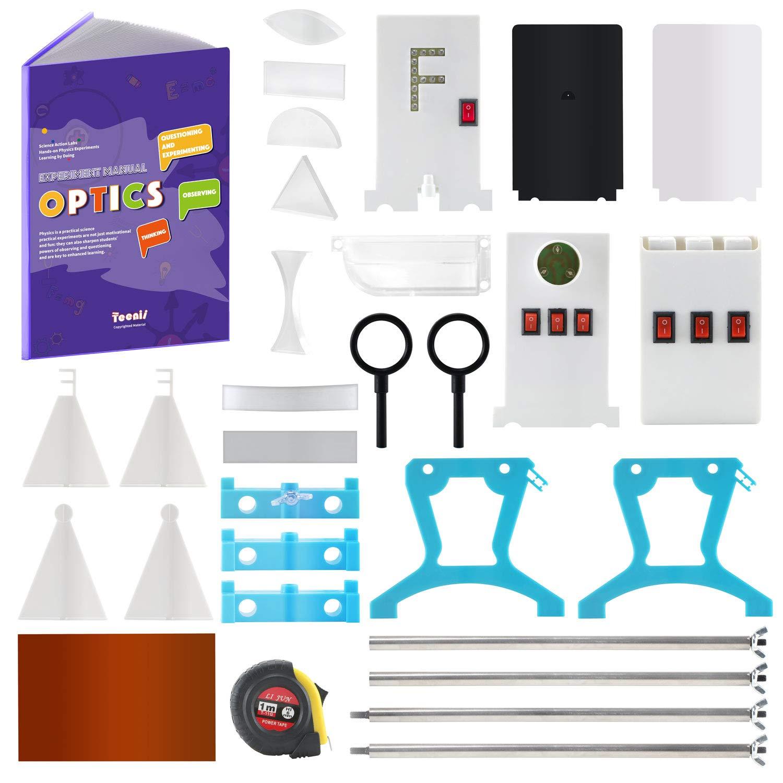 Teenii Stem Physics Science Lab Optics Learning Starter Kit Light Experiment For Kids Elementary Junior Senior High School Students Education Toys Amazon Ca Tools Home Improvement