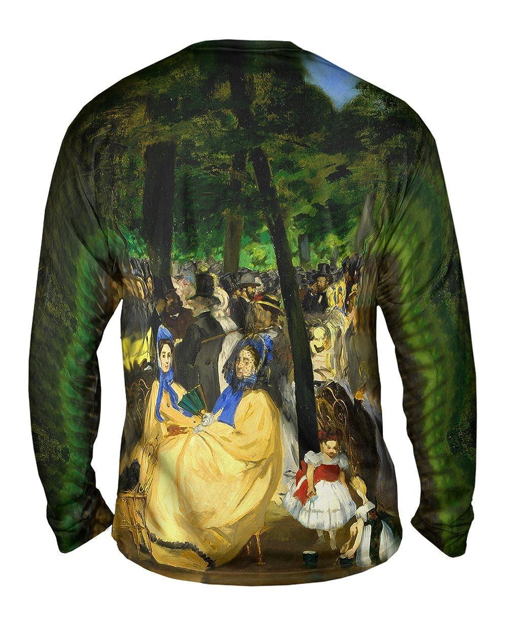 Musica en las Tuller Yizzam Edouard Manet Mens Long Sleeve 1667