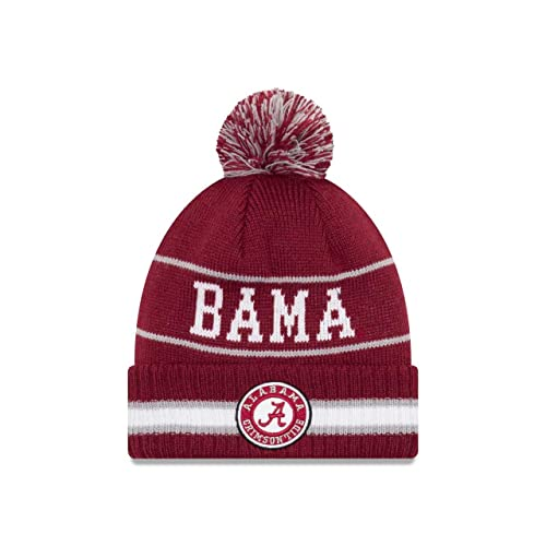 competitive price dbbc7 ef42e ... coupon for new era college vintage select knit pom beanie multiple  teams eef3b bf719