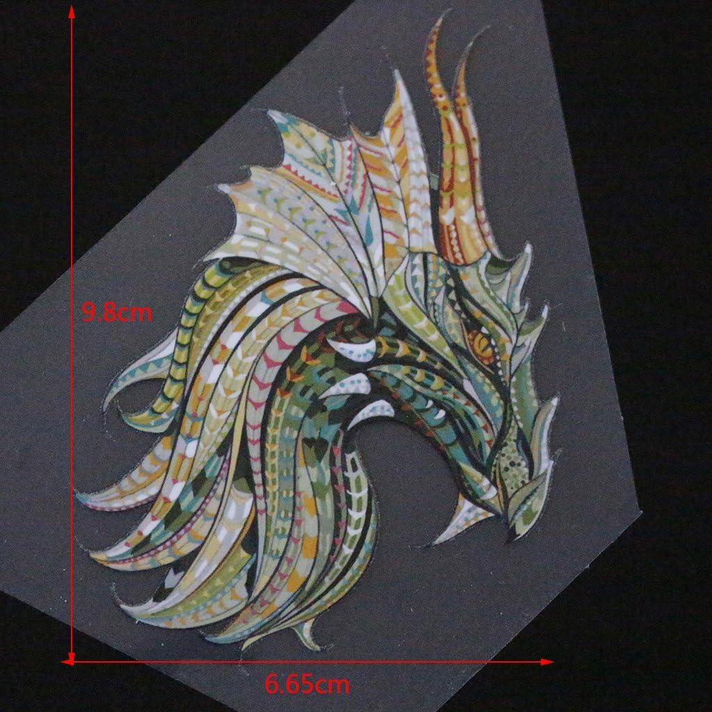 53/# HERGON Lovely Animal Patches f/ür Kinder Kleidet s DIY Aufkleber Eisen auf Patch Badge Aufn/äher f/ür Tasche hat Jeans Patch Aufn/äher Decor