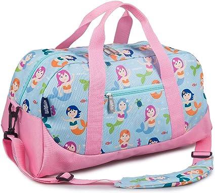 Sport Duffel Bag Lemon Orange Strawberry Gym Bag Kids Travel Bag Weekend Bag