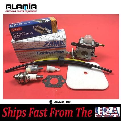 Mantis Tiller Parts Tune Up kit With Mantis Carburetorc1u-k54a  Fits All  New Mantis and Echo Tiller With 3-Fuel Hoses System