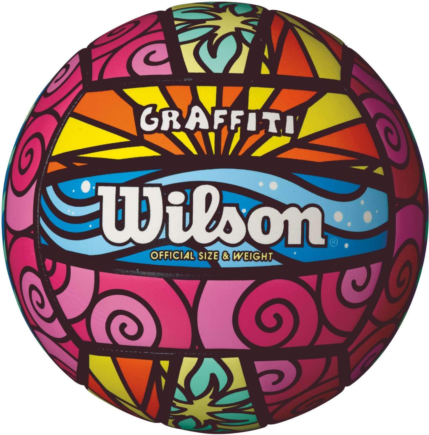 Wilson Graffiti Volleyball (Renewed): Amazon.es: Deportes y aire libre