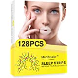 128PCS Mouth Strips for Sleeping, Advanced Mouth Tape for Snoring Relief,Gentle Mouth Strips for Mouth Breather,Less…