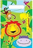 20 Boys Girls Kids Childrens Birthday Party Loot Gift bag Jungle Theme Zoo