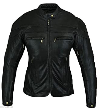 Bikers Gear Australia Protective Kevlar Lined Denim Motorcycle Biker Jacket with Removable CE 1621-1 Armour Size 2XL Black