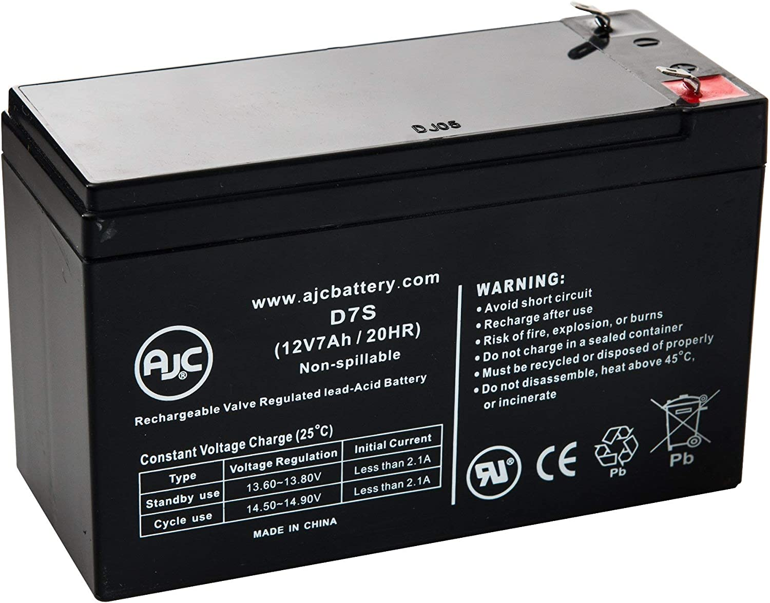 Tripp Lite SU2200RTXL2UA 12V 7Ah UPS Battery This is an AJC Brand Replacement