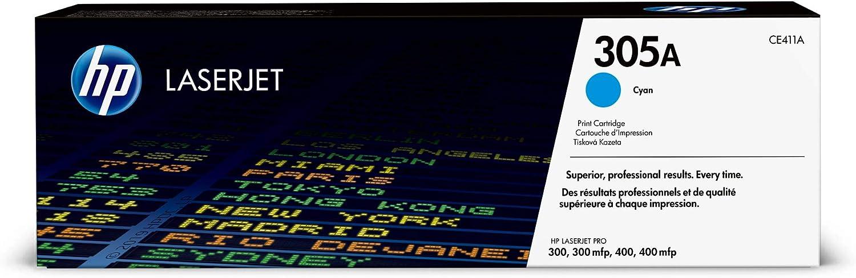 HP 305A | CE411A | Toner Cartridge | Cyan