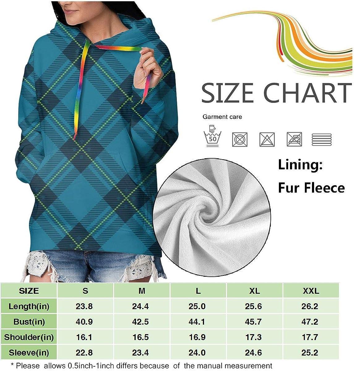 sanlianwangluokeji Custom Womens Hoodie Sweatshirt Pullover Tribal Hand Drawn Line Mexican Casual Hooded Tops Seamless Tartan Plaid Vector