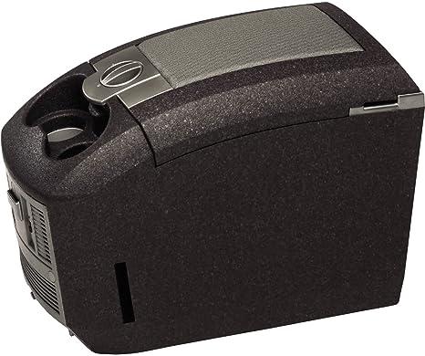 EZetil E15 ABB Nevera portátil termoeléctrica 12V frío+calor con portavasos pasivos, color negro