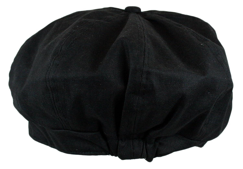 Wonderful Fashion Mens Linen 8 Panel Applejack Gatsby newsboy IVY Hat
