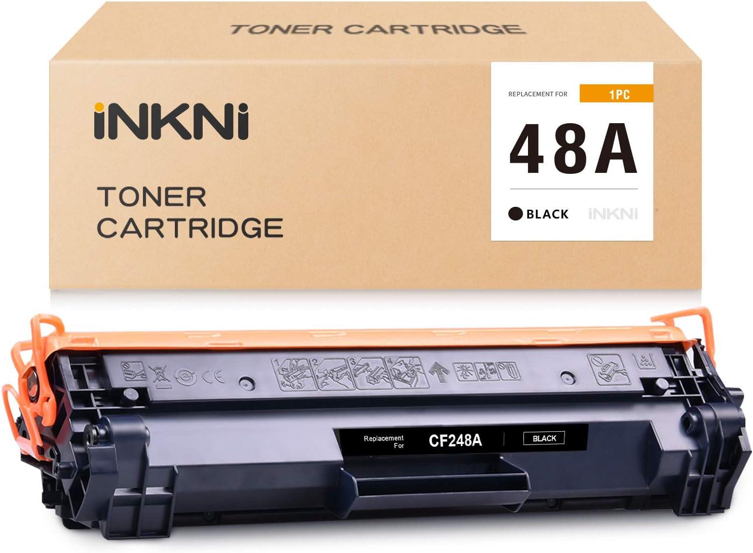 INKNI Compatible Toner Cartridge Replacement for HP 48A CF248A for Laserjet Pro M15w M15a M16a M16w MFP M28a M29a M28w M29w M31w M30w (1 Black)