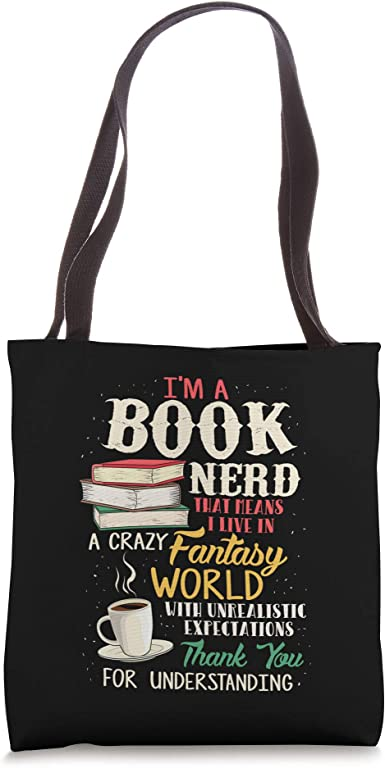 Alice in Wonderland Bag Book Gifts Literary Gift Mad Hatter Book Bag Classic Books Library Bag Literary Gift Book Nerds