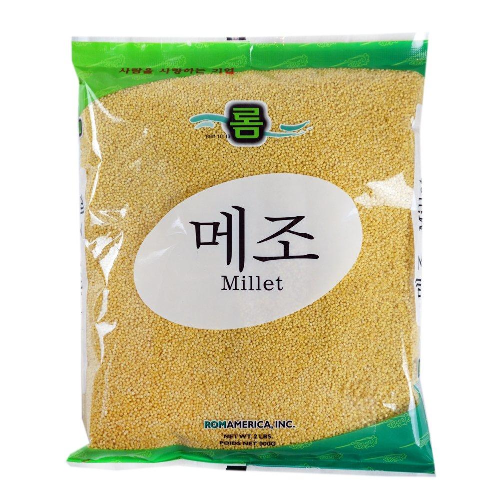 ROM AMERICA [ 2 Pound ] Premium Hulled Millet 메조