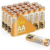 GP batterijen, ultra alkaline, AA batterijen (24 stuks)-P, Chroom/Black/Red, AA 24 Pack