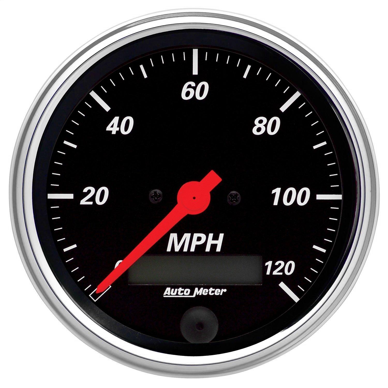 Auto Meter 1480 Designer Black Electric Programmable Speedometer