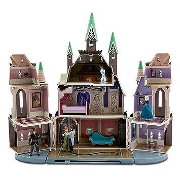 Disney Store Frozen Castle Of Arendelle Play Set Anna Elsa Hans Kristoff