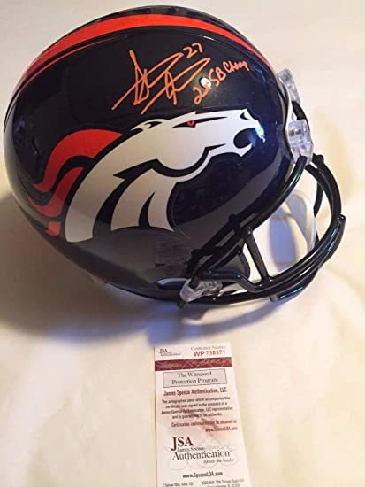 d93cbc9d9 Image Unavailable. Image not available for. Color: Steve Atwater  Autographed Signed Full Size Denver Broncos ...