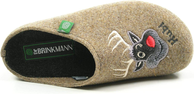 Dr Brinkmann Damen-Pantolette Grau 320483-9
