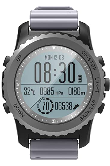 GPS Fitness Tracker Altímetro Barómetro Termómetro Pulsómetro ...
