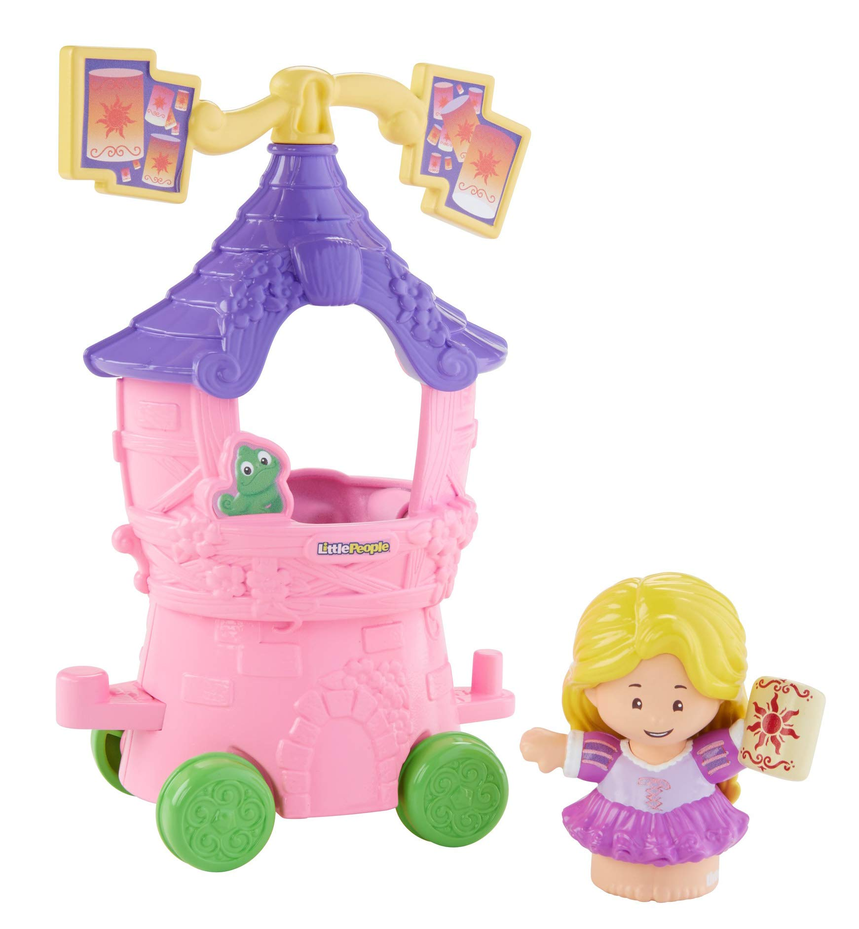 Fisher-Price Little People Disney Princess, Parade Rapunzel & Pascal's Float