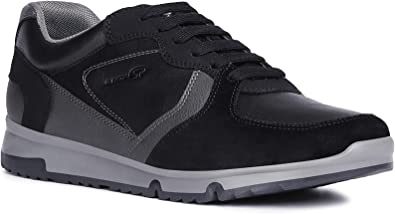 Geox Homme Baskets Mode Wilmer, Monsieur Faible, Low