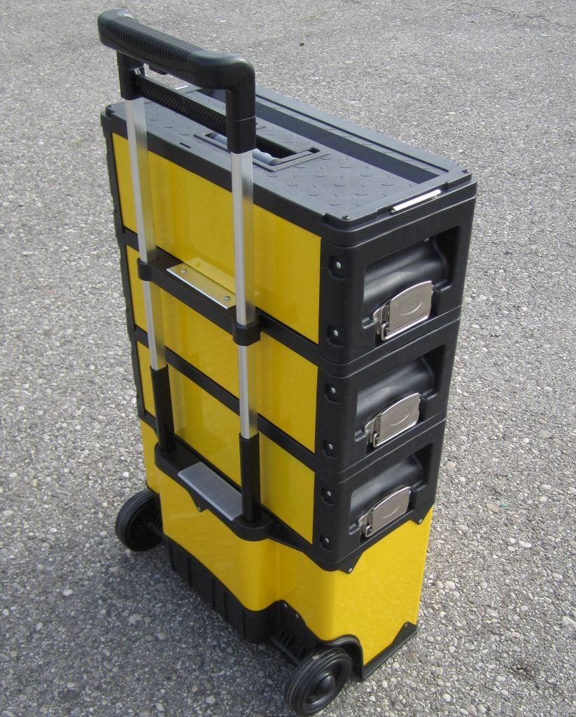 Metall Werkzeugtrolley XXL Type 305BBCD jetzt neu mit Schubladenverriegelung und Schloss von AS-S