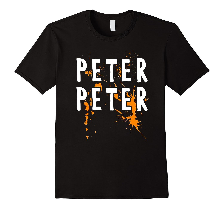 Halloween Costume T-Shirt: Peter Peter Pumpkin Eater Splash-FL