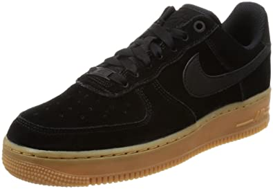 on sale d7d6d f6773 Nike Women s Air Force 1 07  SE Black Ivory AA0287-002 (Size