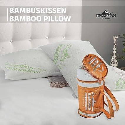 Cuscino Memory Foam Per Cervicale.Donnerberg Cuscino Memory Foam Cuscino Per Cervicale In Fibre Di Bambu Modello Saponetta