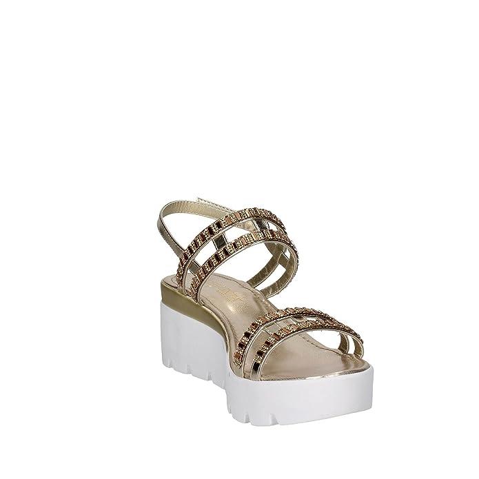 Pregunta Sandalo Donna in Pelle Oro IAD17621 gtyS1T0S2