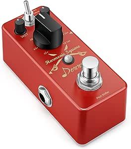 Donner Digital Octave Guitar Effect Pedal Harmonic Square 7 modes