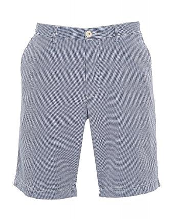 f5e7dea9a BOSS Hugo Black 'Clyde 1w' Navy Regular Fit Shorts: Amazon.co.uk: Clothing