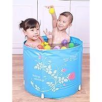 Mlshbt bathtub Baignoires Pliables for Enfants Se Pliant Baril de Bain baignoires for Enfants
