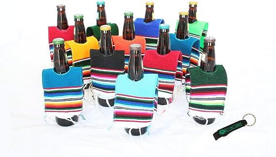 Mexican Cerveza Botella sarape Poncho 12 unidades y botella ...