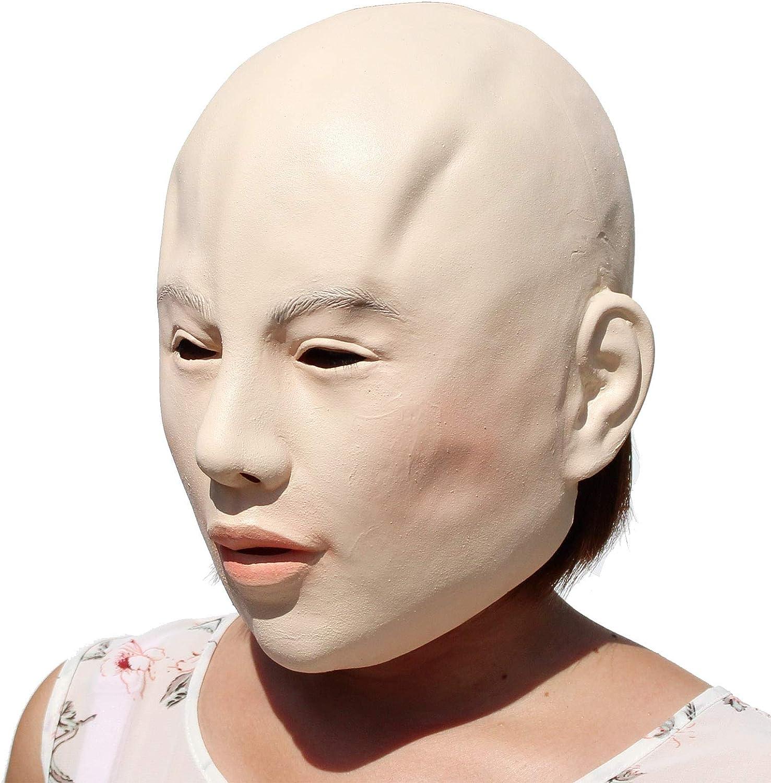 PartyCostume Lady Mask Halloween Mascara de Latex la Belleza Femenina
