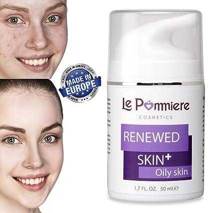 Le Pommiere Acné gel 50ml. Ayuda a remover espinillas, granos en cara o cuerpo. Anti imperfecciones facial y corporal. Hombre / mujer. Adolescente, ...